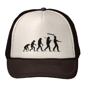 Zombie Evolution Trucker Hat