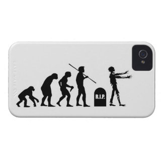 Zombie Evolutionary evolution chart funny science iPhone 4 Case-Mate Case
