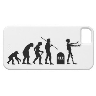 Zombie Evolutionary evolution chart funny science iPhone 5 Cover