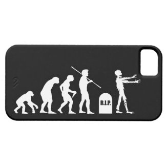 Zombie Evolutionary evolution chart funny science iPhone SE/5/5s Case