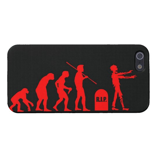 Zombie Evolutionary evolution chart funny science iPhone SE/5/5s Cover