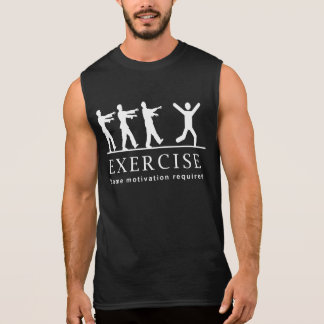 Zombie Exercise Sleeveless Shirt