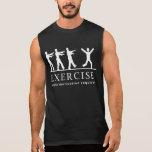Zombie Exercise Sleeveless T-shirt