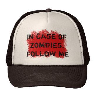 Zombie Expert Trucker Hat