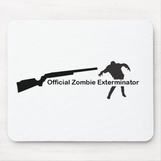 Zombie Exterminator Mouse Pad