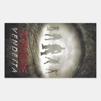 Zombie Eye Rectangular Sticker