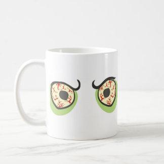 Zombie eyes mug