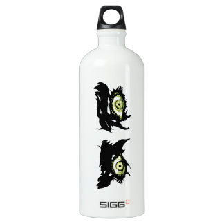 ZOMBIE EYES - Scary Roguish Eyes Aluminum Water Bottle