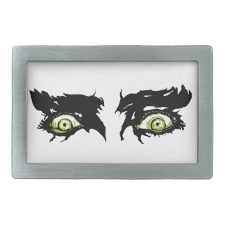 ZOMBIE EYES - Scary Roguish Eyes Belt Buckle