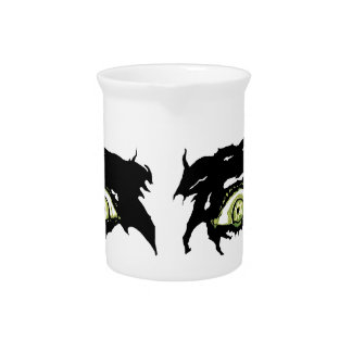 ZOMBIE EYES - Scary Roguish Eyes Pitcher