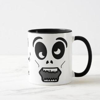 Zombie Face All Hallows' Eve Coffee Mug