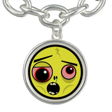 Halloween Themed Zombie Face Bracelet