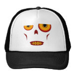 Zombie Face - Clenched Teeth Trucker Hat