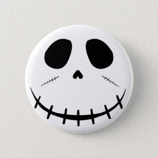 Zombie Face Pinback Button
