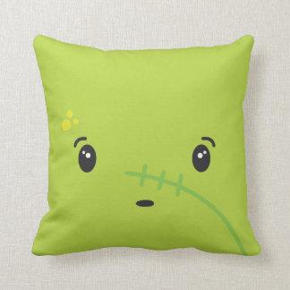 zombie face throw pillows