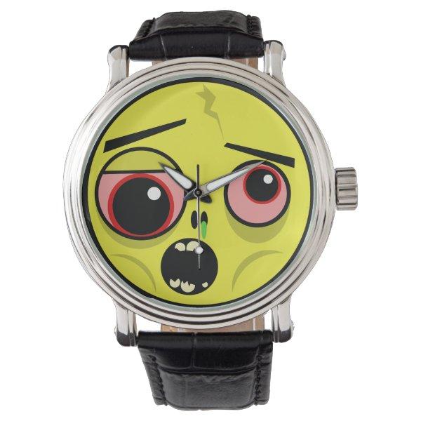 Zombie Face Wrist Watch