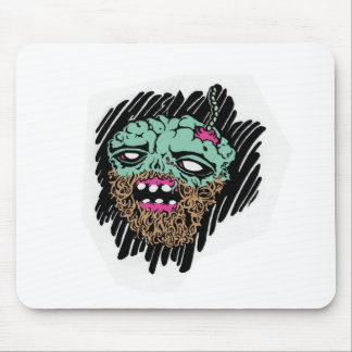 zombie faced goods.jpg mouse pad