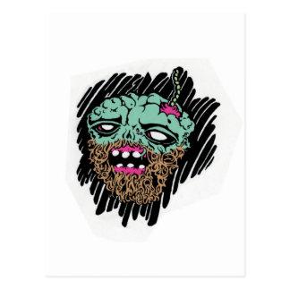 zombie faced goods.jpg postcard