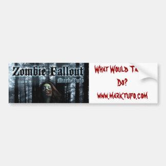 Zombie Fallout Bumper sticker