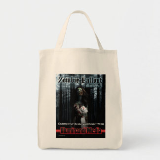 Zombie Fallout Cloth Grocery tote