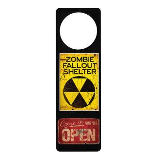 Zombie Fallout Shelter Door Hanger Walkers Funny
