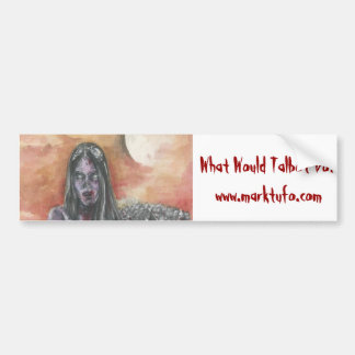 Zombie Fallout throwback bumper sticker