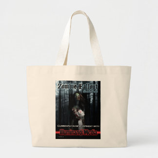 Zombie Fallout Tote Canvas Bags