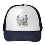 Zombie Family Decay Mesh Hat