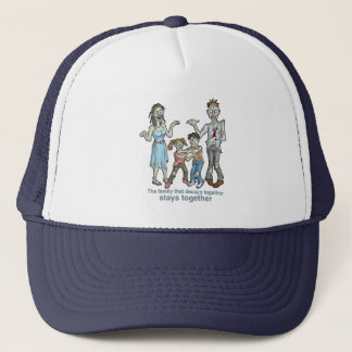 Zombie Family Decay Trucker Hat