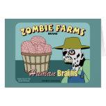 Zombie Farms Fruit Crate Label