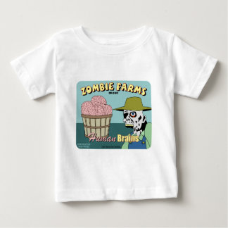 Zombie Farms Fruit Crate Label Baby T-Shirt