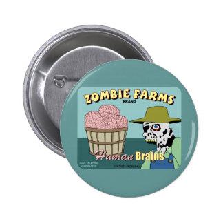 Zombie Farms Fruit Crate Label Buttons
