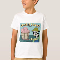 Zombie Farms Fruit Crate Label T-Shirt