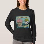 Zombie Farms Fruit Crate Label T-Shirt