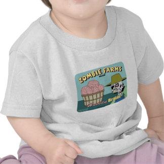 Zombie Farms Fruit Crate Label T Shirt