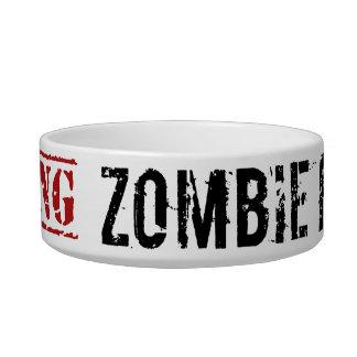 Zombie Ferret Bowl Cat Bowl