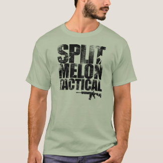 Zombie Fight Split Melon Tactical T-Shirt