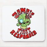 Zombie First Responder Mouse Pad