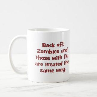 Zombie flu (sq) coffee mug