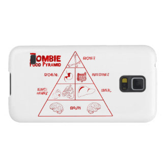 Zombie food pyramid galaxy s5 cover