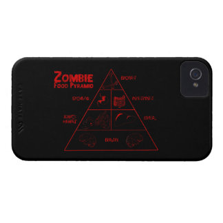 Zombie food pyramid iPhone 4 Case-Mate case