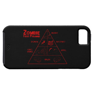 Zombie food pyramid iPhone SE/5/5s case