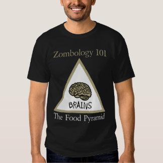 Zombie Food Pyramid T Shirt