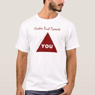 Zombie Food Pyramid Z T-Shirt