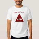 Zombie Food Pyramid Z Tee Shirt