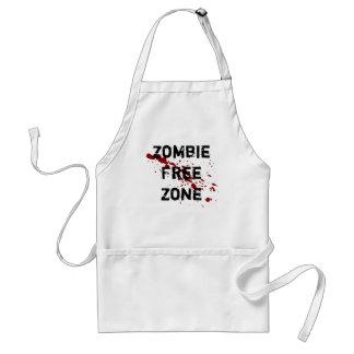 Zombie Free Zone Adult Apron