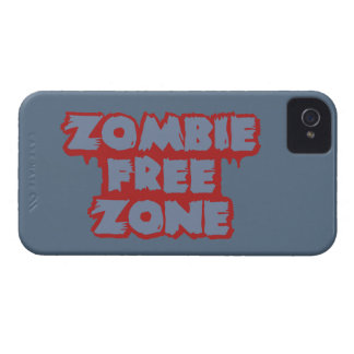Zombie Free Zone custom Blackberry case