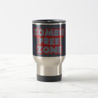 Zombie Free Zone custom mug, choose style Travel Mug