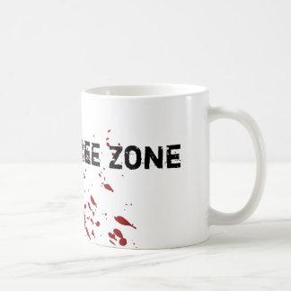 Zombie Free Zone Mug