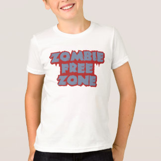 Zombie Free Zone shirt - choose style & color